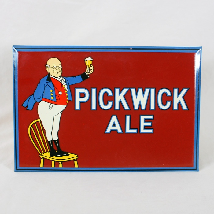 Pickwick Ale TOC Sign Beer