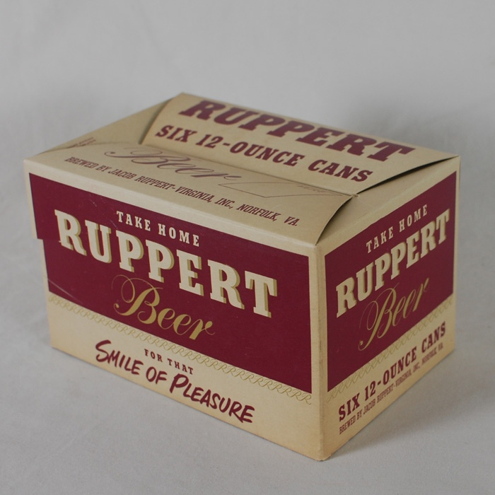 Ruppert Beer Carton Beer
