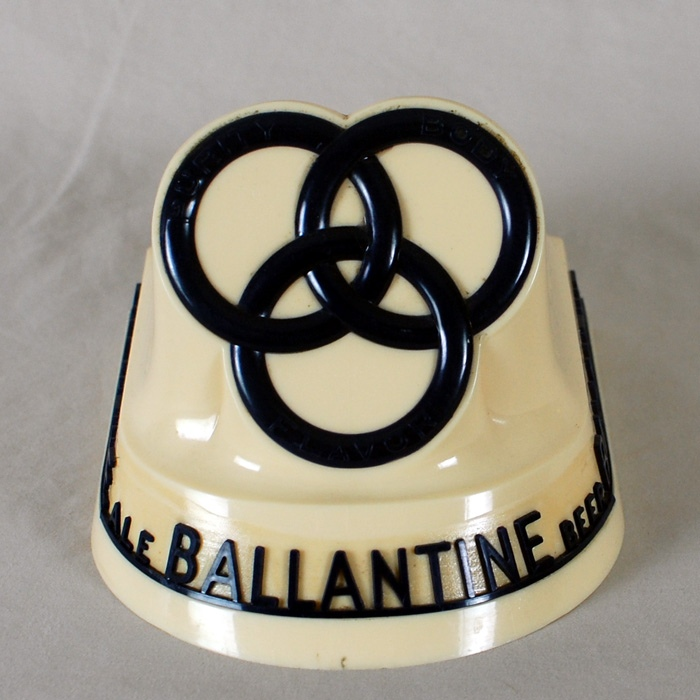 Ballantine Beer Foam Scraper Frother Holder Beer
