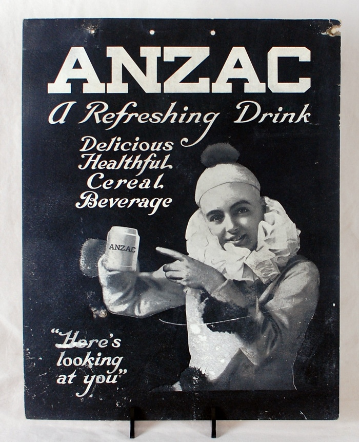 Anzac Beverages Sign Beer