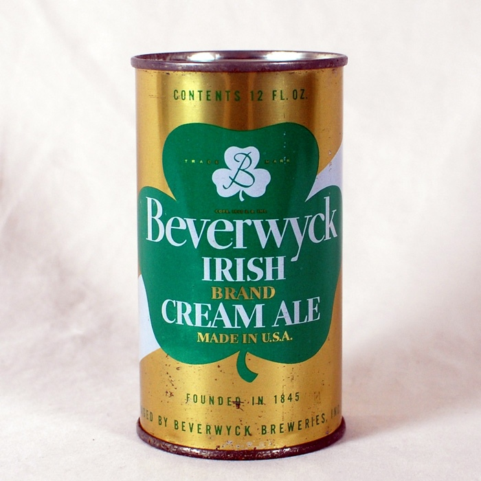 Beverwyck Irish Brand Cream Ale 36-37 Beer