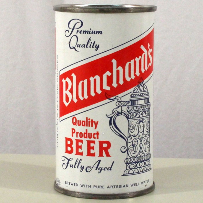 Blanchard's Quality Product Beer 038-37 Beer