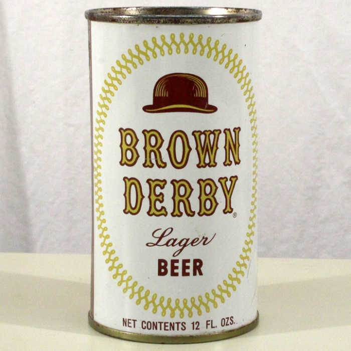 Brown Derby Lager Beer (Los Angeles) 042-16 Beer