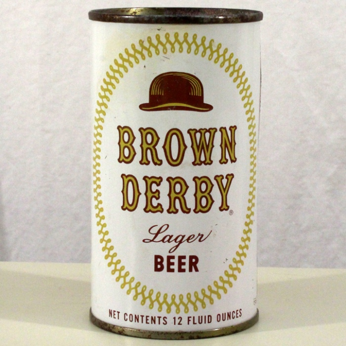 Brown Derby Lager Beer (Los Angeles) 042-15 Beer
