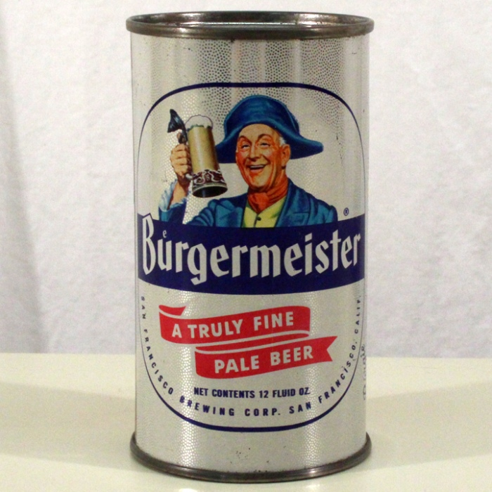 Burgermeister Truly Fine Pale Beer (Music Box) 046-35 Beer