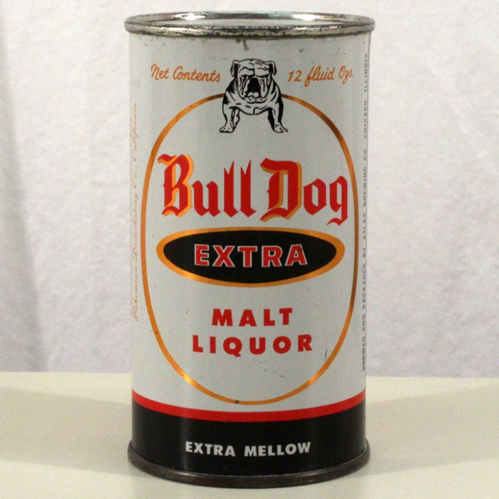 Bull Dog Extra Malt Liquor 045-40 Beer