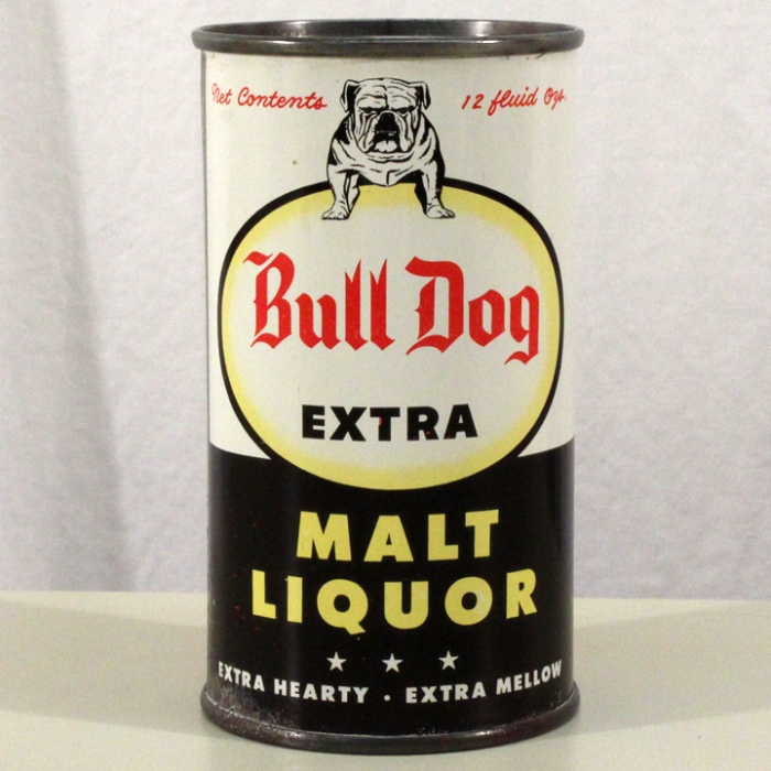 Bull Dog Extra Malt Liquor 045-25 Beer