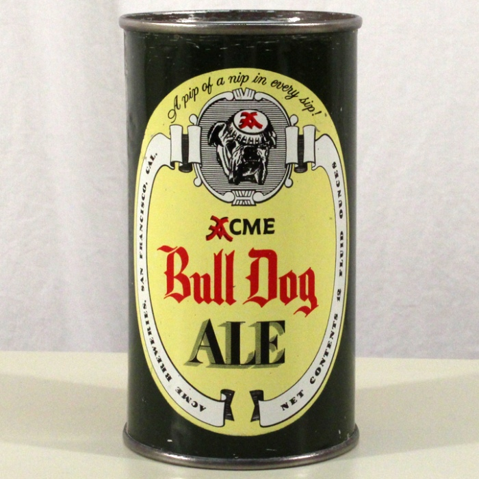 Acme Bull Dog Ale (San Francisco) 045-20 Beer