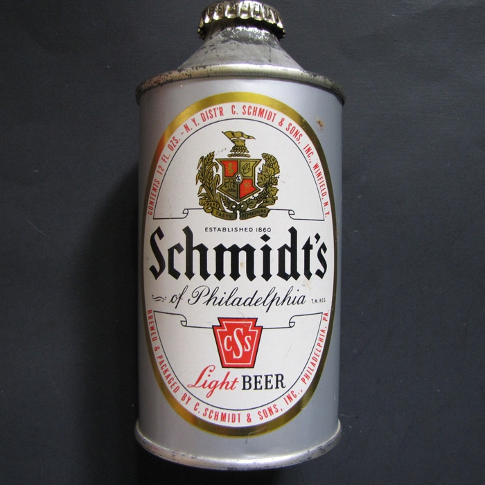 Schmidt's Light Flat Bottom 185-06 Beer