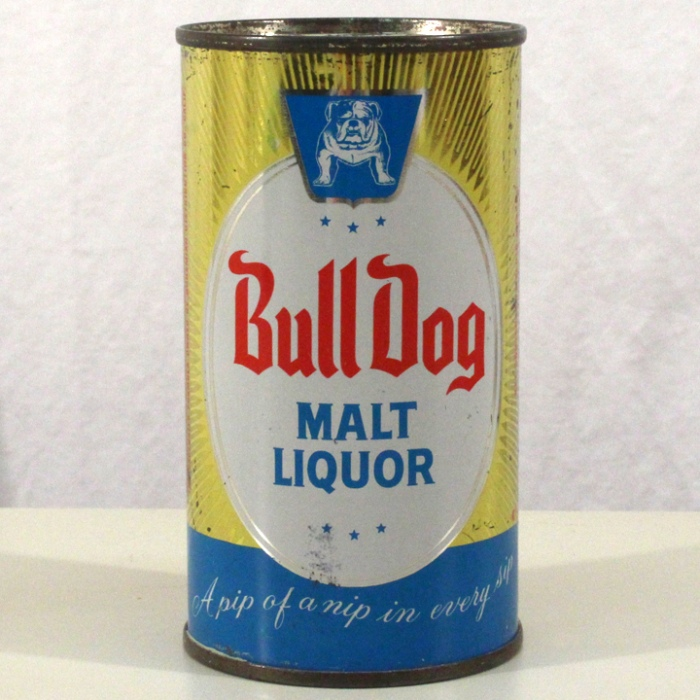 Bull Dog Malt Liquor 045-33 Beer