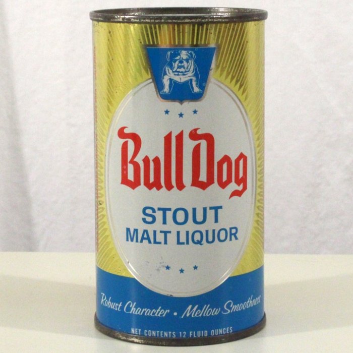 Bull Dog Stout Malt Liquor 045-38 Beer