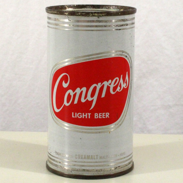 Congress Light Beer 051-04 Beer