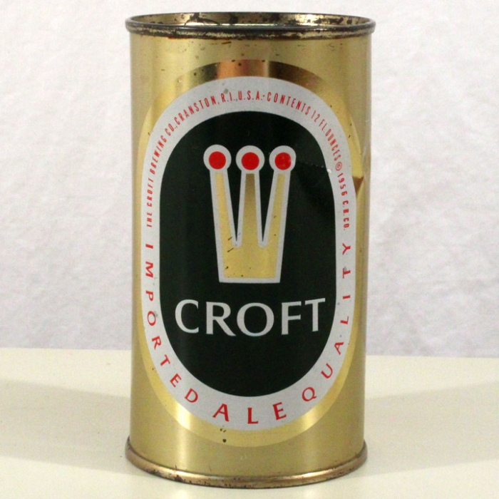 Croft Ale 052-35 Beer
