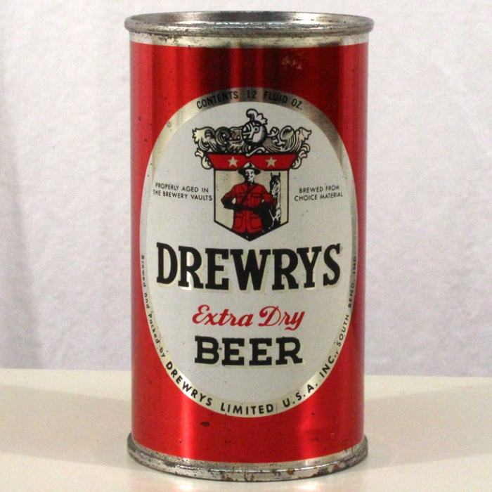 Drewrys Extra Dry Beer Red Sports 056-08 Beer