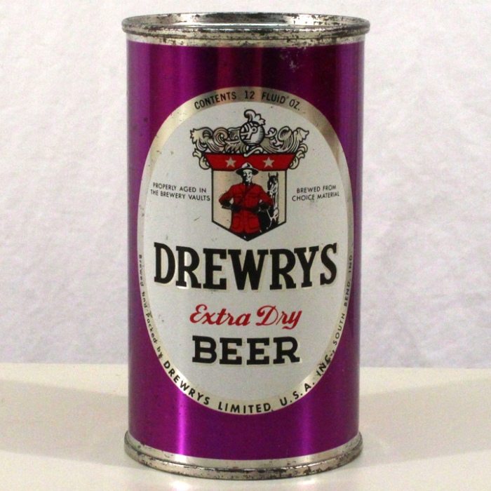 Drewrys Extra Dry Beer Purple Sports 056-07 Beer