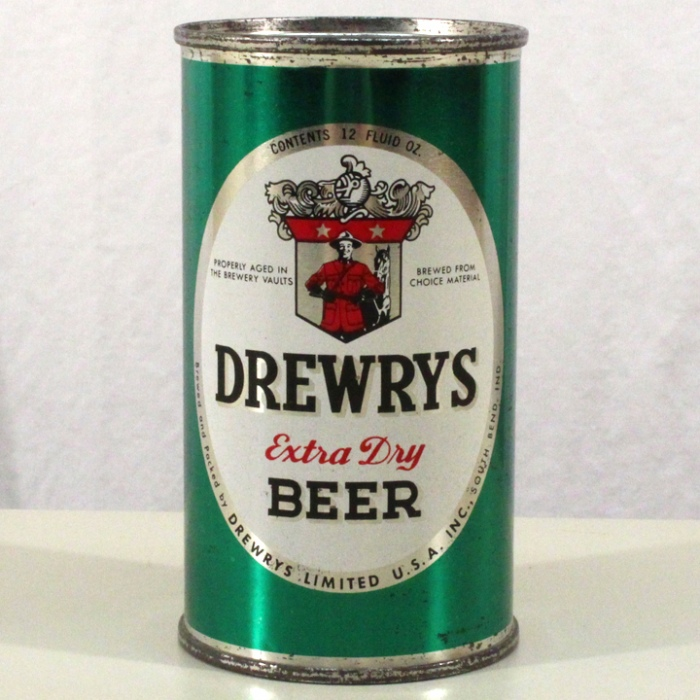 Drewrys Extra Dry Beer Green Sports 056-06 Beer