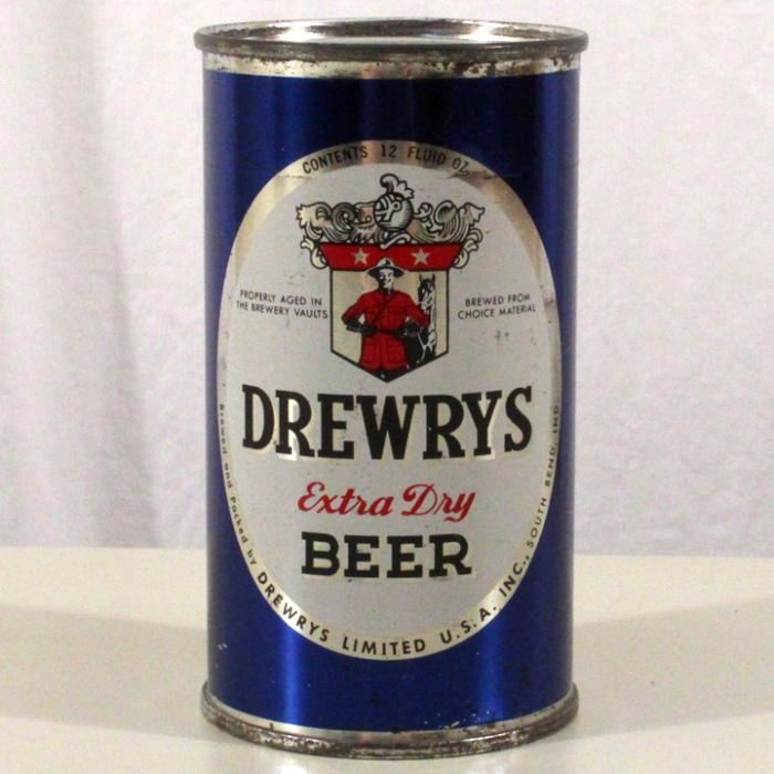 Drewrys Extra Dry Beer Blue Sports 056-04 Beer