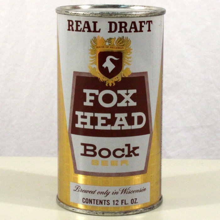 Fox Head Bock Beer 065-38 Beer