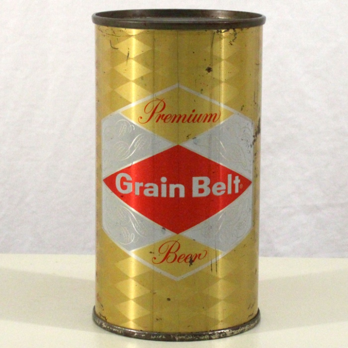 Grain Belt Premium Beer (Enamel Gold) L074-01 Beer
