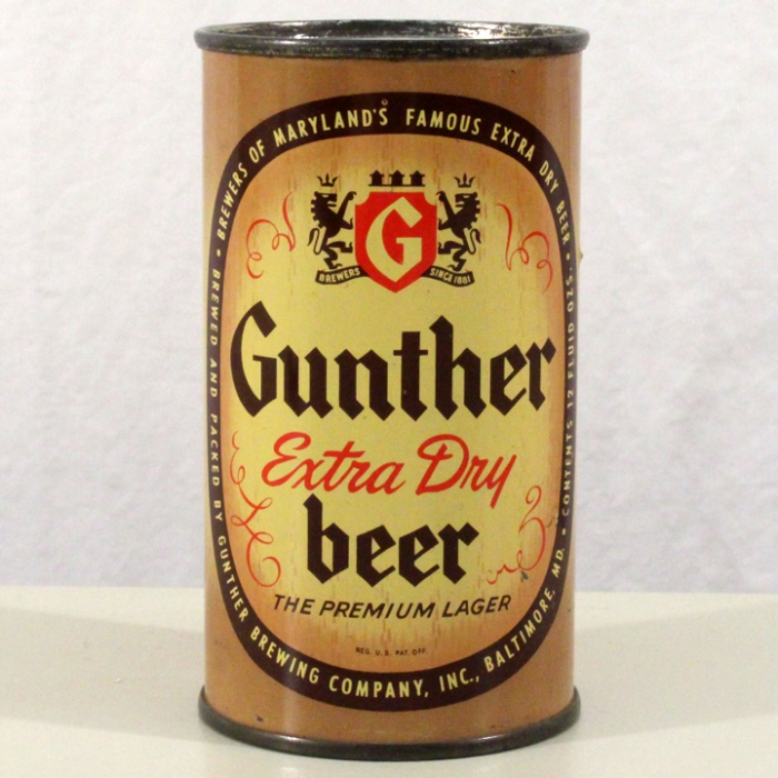 Gunther Extra Dry Beer 078-25 Beer