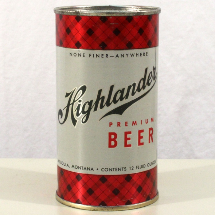 Highlander Premium Beer (Metallic) 082-12 Beer