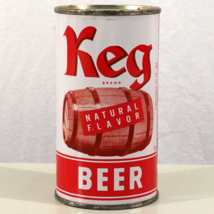 Keg Brand Natural Flavor Beer 087-24 Beer