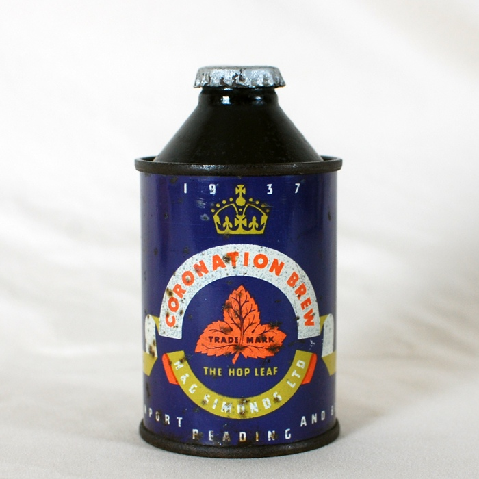 Coronation Brew Cone Top Beer