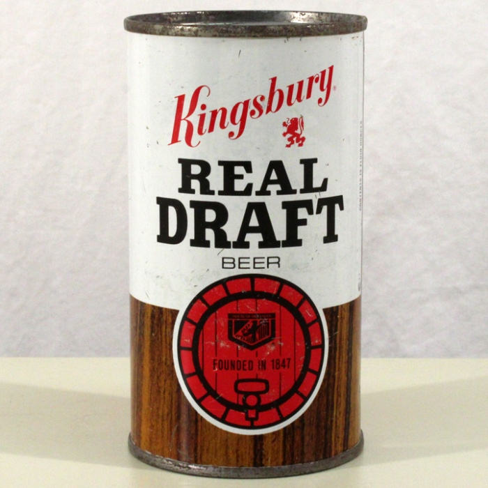 Kingsbury Real Draft Beer 088-15 Beer