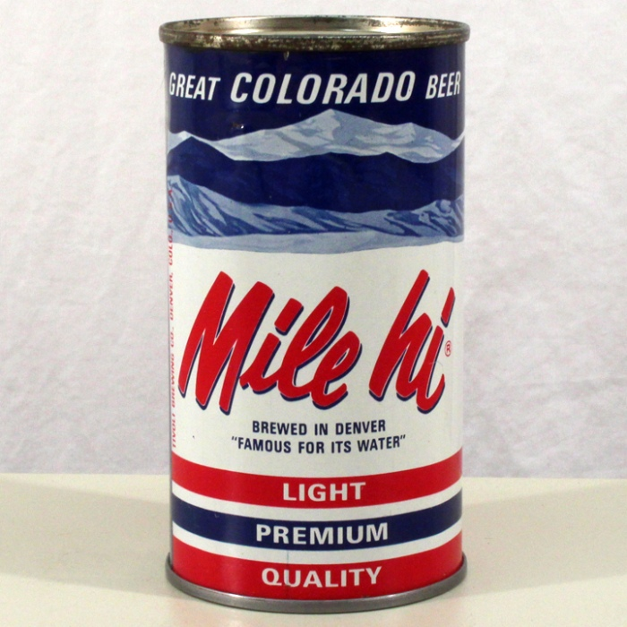 Mile Hi Light Premium Quality Beer 099-26 Beer