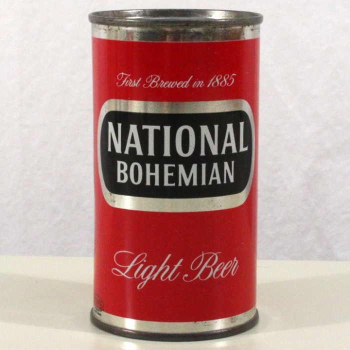 National Bohemian Light Beer (Metallic) 102-10 Beer