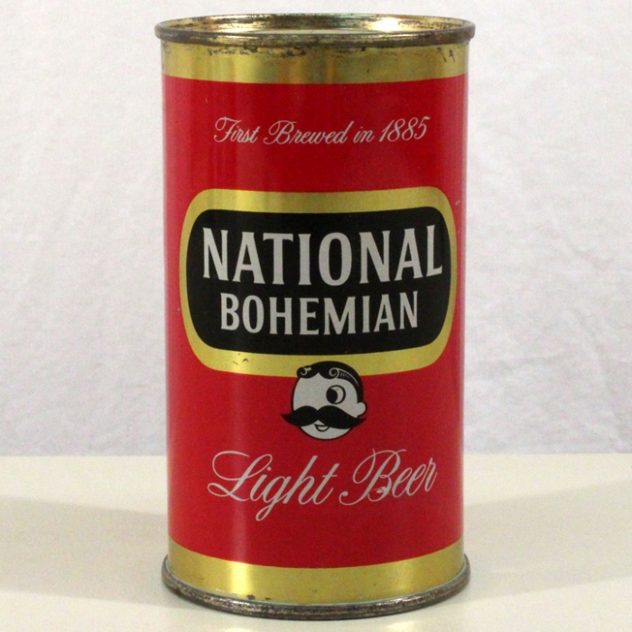 National Bohemian Light Beer 102-07 Beer