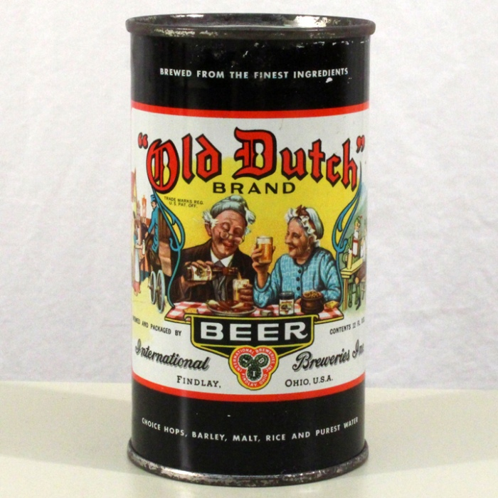 """Old Dutch"" Brand The Good Beer 106-02 Beer"