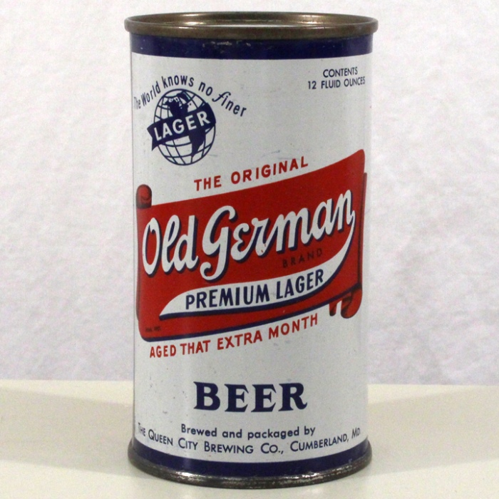 Old German Premium Lager Beer 106-28 Beer