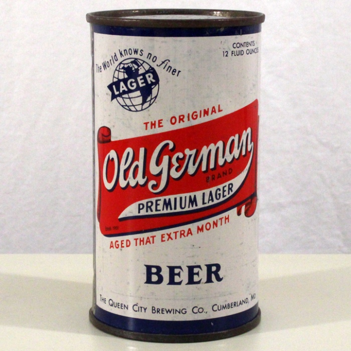 Old German Premium Lager Beer 106-27 Beer