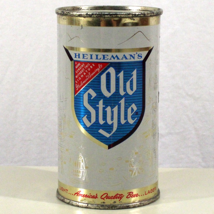 Heileman's Old Style Light Lager Beer 108-21 Beer