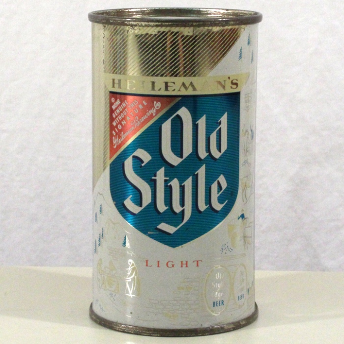 Heileman's Old Style Light Lager Beer 108-19 Beer