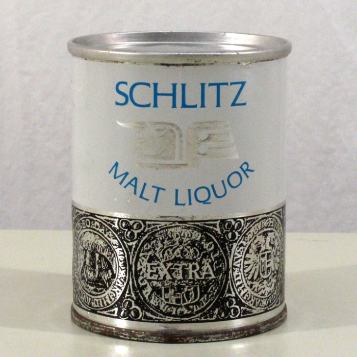 Schlitz Malt Liquor (Paper Label) 242-14 Beer