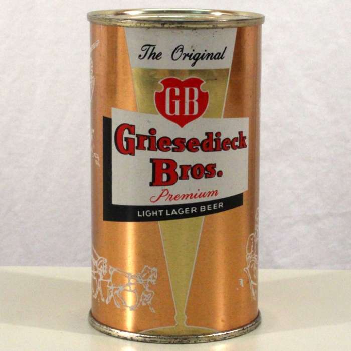 Griesedieck Bros. Premium Lager Beer Pink Set Can 076-17 Beer