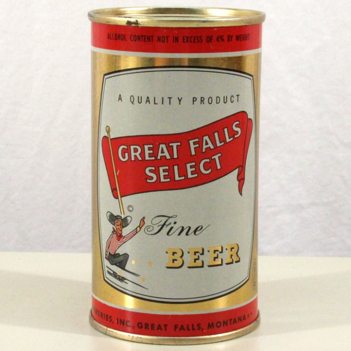 Great Falls Select Fine Beer 074-23 Beer