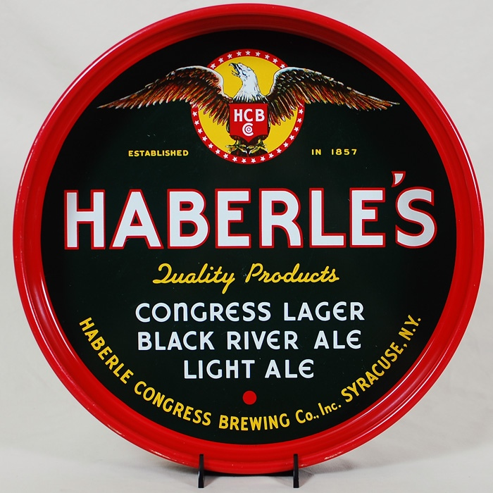 Haberle's Congress Black River Tray Beer
