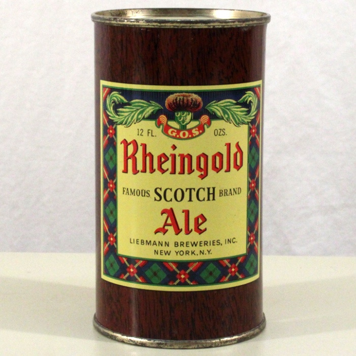 Rheingold Scotch Ale 123-26 Beer