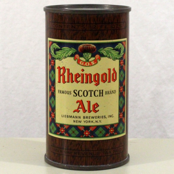 Rheingold Scotch Ale 123-25 Beer
