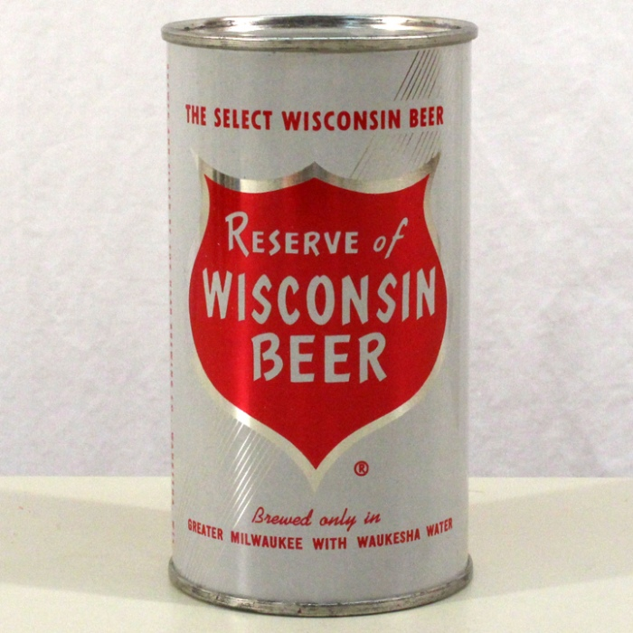 Reserve of Wisconsin Beer 122-30 Beer