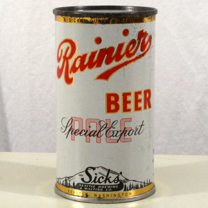 Rainier Special Export Pale Beer 702 Beer