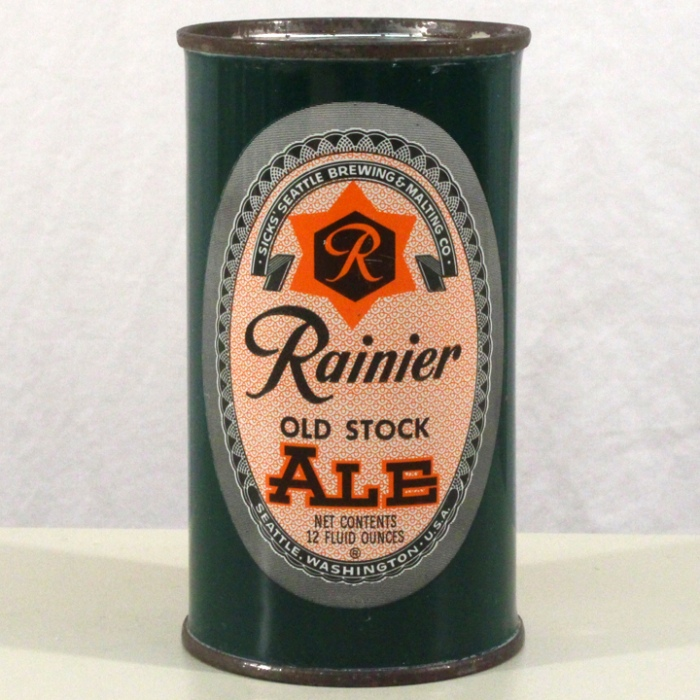 Rainier Old Stock Ale 118-01 Beer