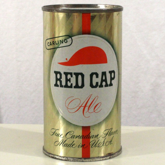 Carling Red Cap Ale 119-08 Beer