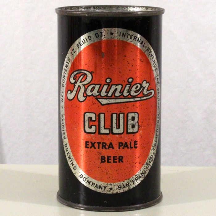 Rainier Club Extra Dry Beer 117-32 Beer