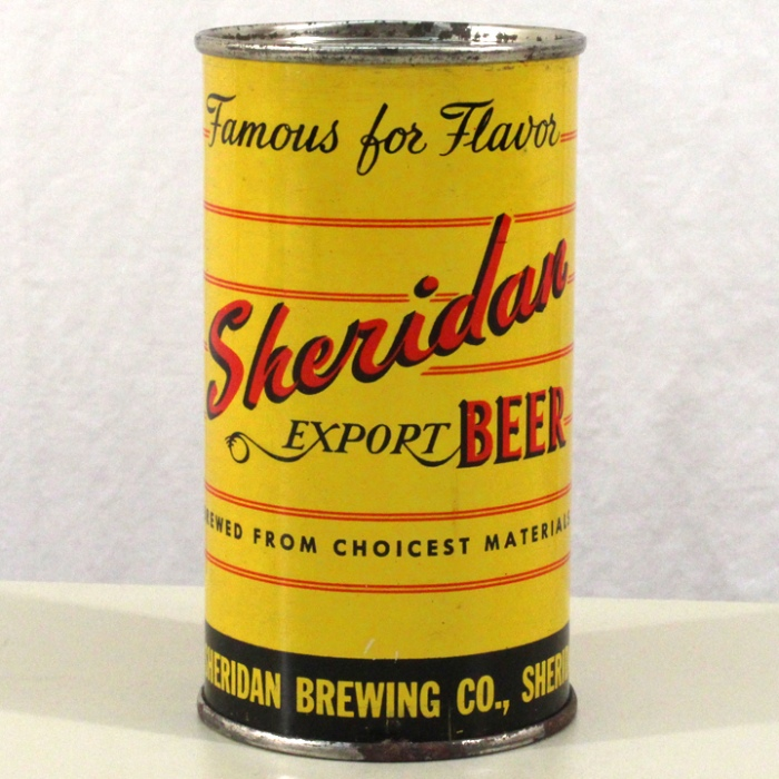 Sheridan Export Beer 133-02 Beer