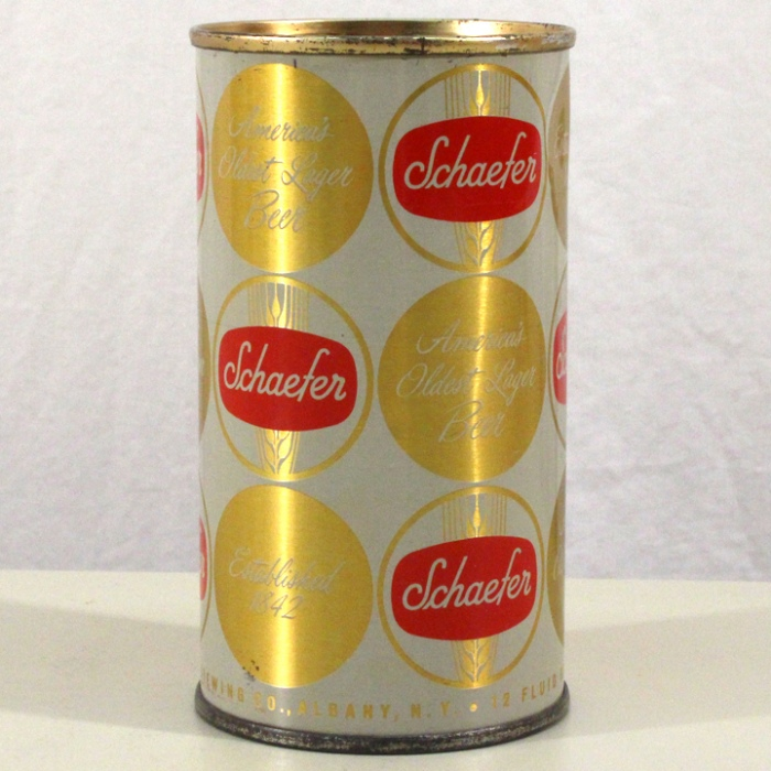 Schaefer Lager Beer (Enamel Gold) L127-35 Beer
