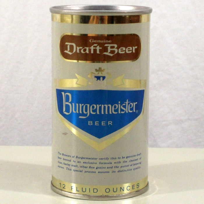 Burgermeister Draft Beer (Los Angeles) 051-08 Beer